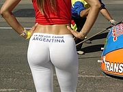 Hot Argentinian Ass in Tight Yoga Pants