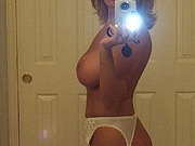 Topless Mature Woman Naked Selfshot