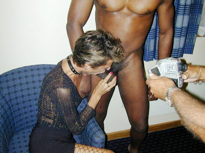 British mature woman sucks black dick undress nude