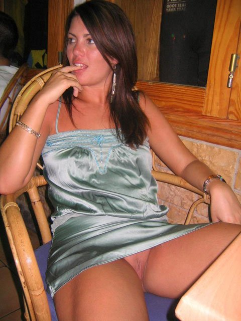 public flashing Amateur wife