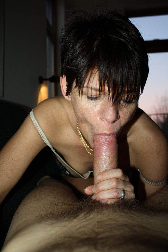with sucking a juicy cock