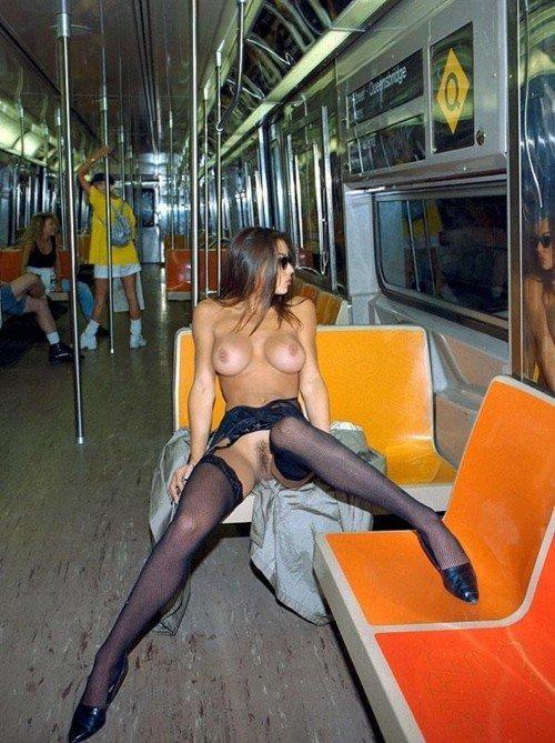 Subway Tits 12