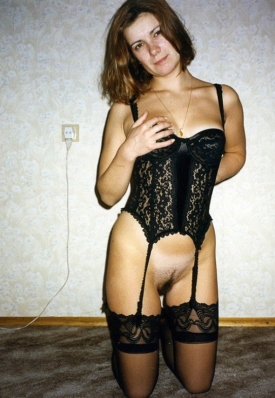 lingerie naked Wife