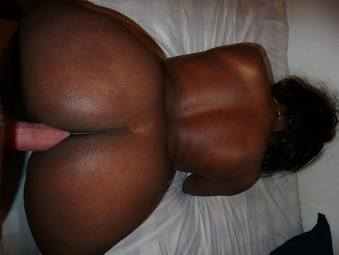 black girl having butt sex