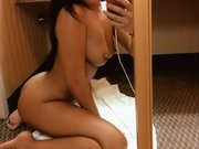 Sexy Nude Asian Woman Selfshot