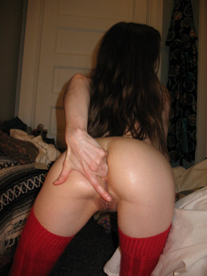 Girls finger in her ass 15