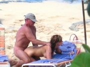 Voyeur Camera Catches Couple Fucking at Beach