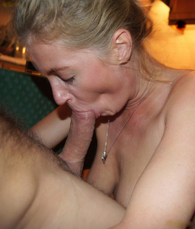Sucking mature fuck housewife cock the