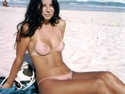 Hot Nudist Wife on the Beach