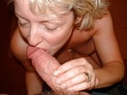 Hot older mom sucking cock